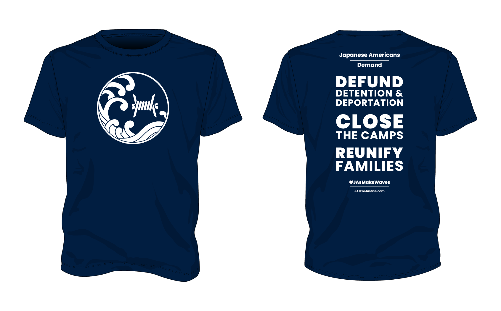JAs Demand / Close the Camps Tee