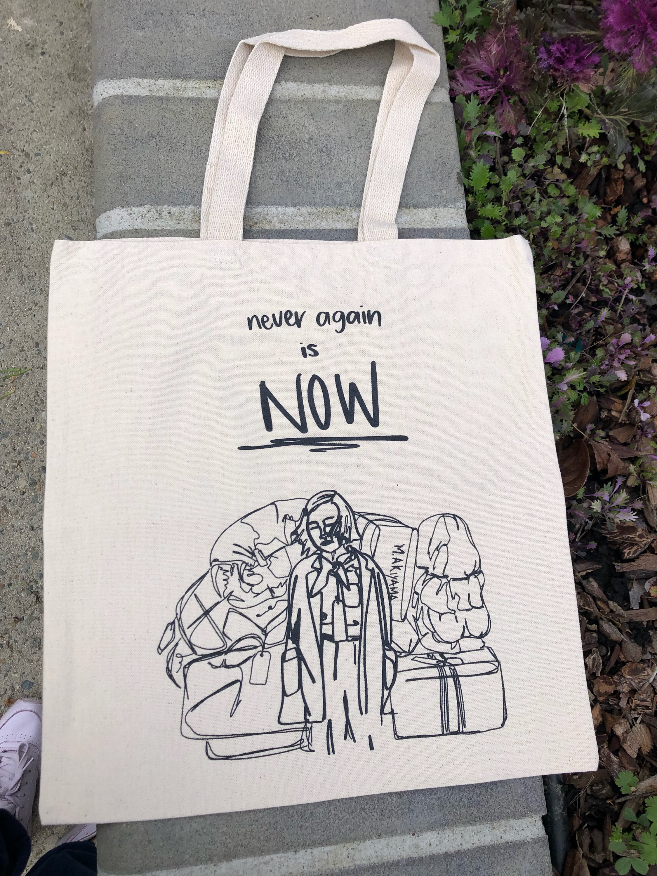 Never Again is Now / Totebag